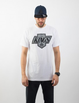 MITCHELL & NESS LOGO TEAM TRADITIONAL LA KINGS TRIKO