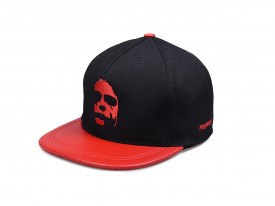 KŠILTOVKA PHENOMENAL DARK FACE RED  SNAPBACK