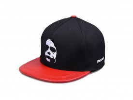 KŠILTOVKA PHENOMENAL DARK FACE RED/WHITE SNAPBACK