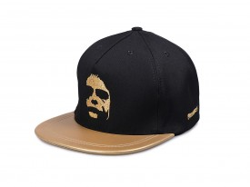 KŠILTOVKA PHENOMENAL DARK FACE GOLD SNAPBACK