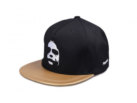 KŠILTOVKA PHENOMENAL DARK FACE GOLD/WHITE SNAPBACK