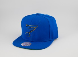KŠILTOVKA MITCHELL & NESS BLUES NHL MODRÁ