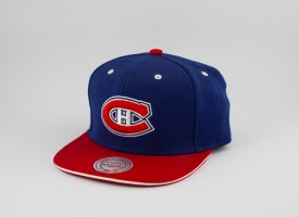 KŠILTOVKA MITCHELL & NESS CANADIENS NHL MODRÁ