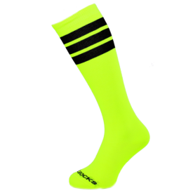 COOLSOCKS PODKOLENKY SLIM 21 YELLOW NEON