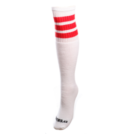 COOLSOCKS PODKOLENKY SIMPLE 6 RED