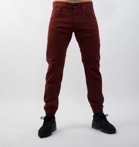MASS DNM JOGGER PANTS SIGNATURE SNEAKER FIT ČERVENÉ
