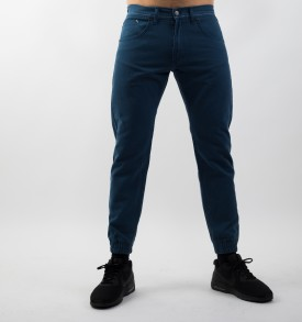 MASS DNM JOGGER PANTS SIGNATURE SNEAKER FIT MODRÉ